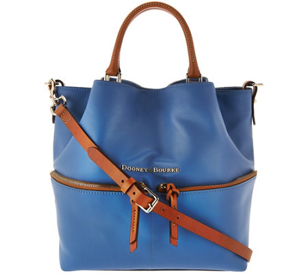 Dooney & Bourke Smooth Leather Dawson Satchel