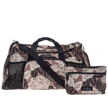 Vera Bradley Lighten Up Ultimate Duffel & Cosmetic Bundle