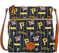 Dooney & Bourke MLB Nylon Pirates Crossbody - A281502