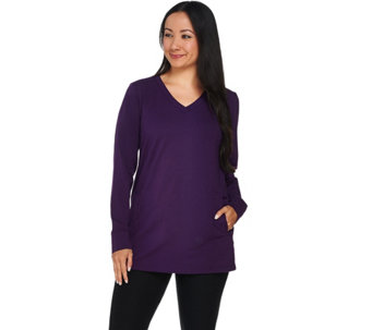 Linea Leisure by Louis Dell'Olio V-Neck Tunic - A282502