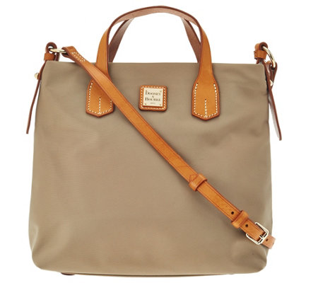 """As Is"" Dooney & Bourke Windham Nylon Cleo Crossbody Bag"