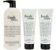 philosophy super-size shower gel & body lotion duo