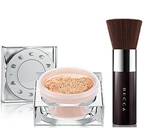 BECCA Soft Light Blurring Powder with Kabuki Brush - A296302