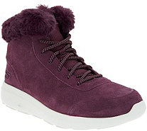 Skechers On-the-GO Suede Boots - City 2 - Chilled - A297102
