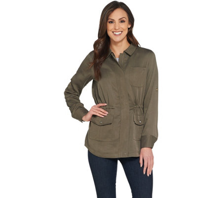 Kelly by Clinton Kelly Anorak Jacket