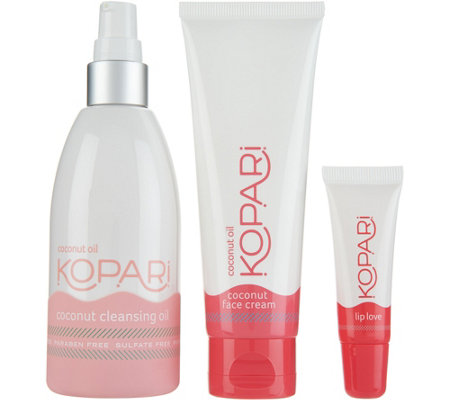 Kopari Coconut Oil Skincare Kit for Face