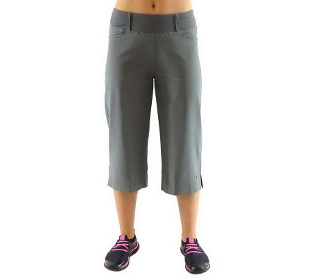 Ryka Stroll Relaxed Fit Four Pocket Capri Pants