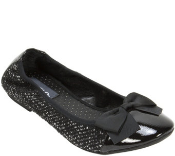 Rialto Fabric Ballet Flat with Elastic Back - Sania - A355202