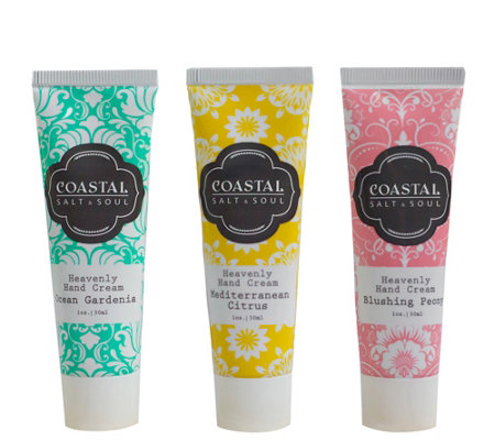 Coastal Salt & Soul Hand Cream Holiday Gift Set