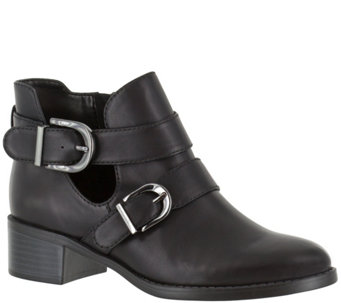 Easy Street Moto Ankle Boots - Badge - A355802