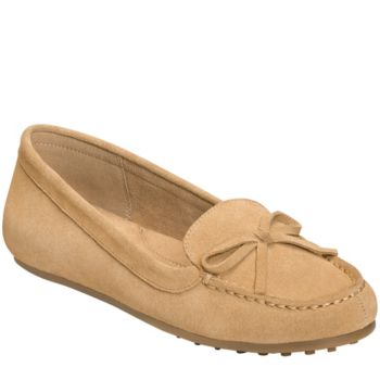 Aerosoles Suede Moccasin Loafers - Long Drive