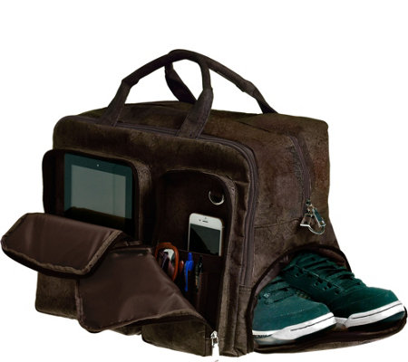 Earth Cork Braga Travel Bag - Brown