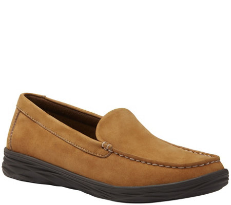 Eastland Leather Slip-on Moccasins  - Ashley