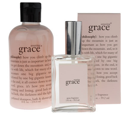 philosophy amazing grace shower gel & spray fragrance