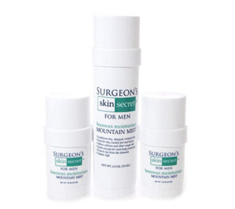 Surgeon's Skin Secret 3 pc Travel Pack - Mountain Mist - A182403