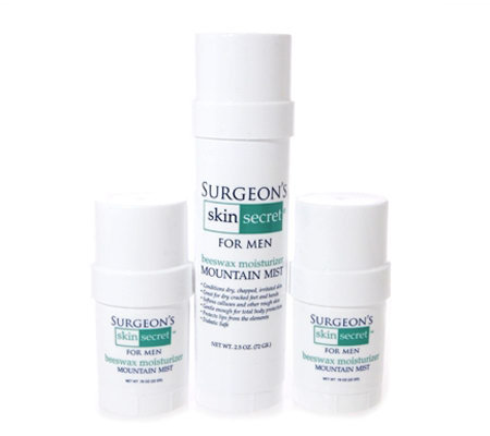 Surgeon's Skin Secret 3 pc Travel Pack - Mountain Mist