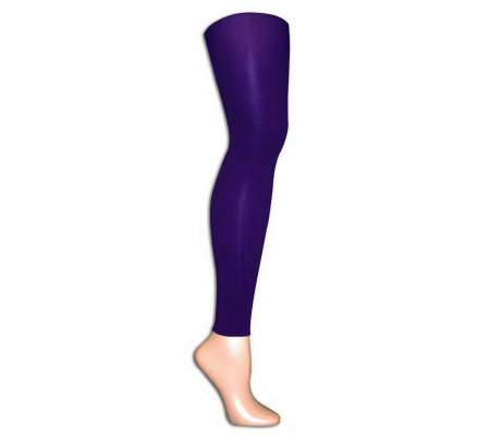 MUK LUKS Microfiber Footless Tights
