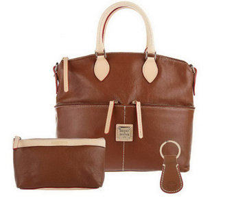"""As Is"" Dooney & Bourke Leather Satchel - A210903"