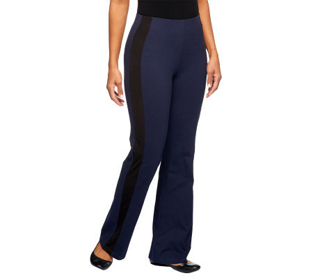 Women with Control Regular Hollywood Waist Tuxedo Pants