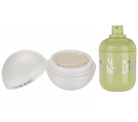 Time Bomb Collagen Bomb & Glory Days Day Cream Duo