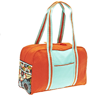 Vera Bradley Canvas Colorblock Duffel