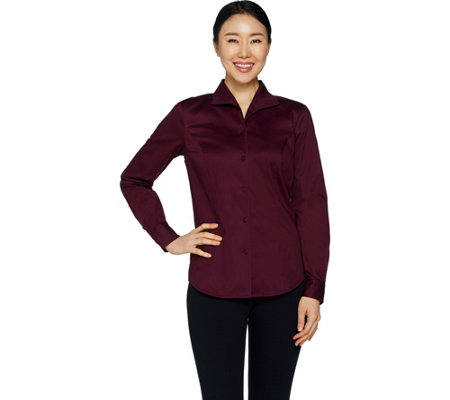 Linea by Louis Dell'Olio Wing Collar Blouse