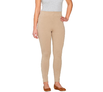 Liz Claiborne New York Regular Hepburn Ponte Knit Ankle Pant - A261303