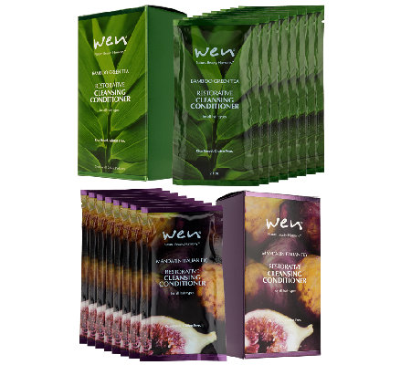 WEN by Chaz Dean Rice Cleansing Conditioner 16pc Travel Set