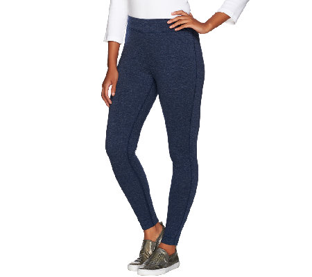 Isaac Mizrahi Live! SOHO Pull-On Knit Leggings