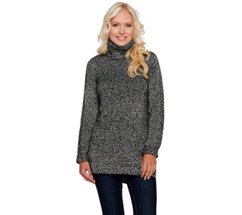 Isaac Mizrahi Live! Turtleneck Sweater Tunic - A269503