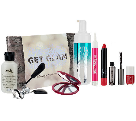 QVC Beauty Get Glam 8-piece Collection