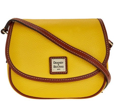 Dooney & Bourke Pebble Leather Hallie Crossbody Bag