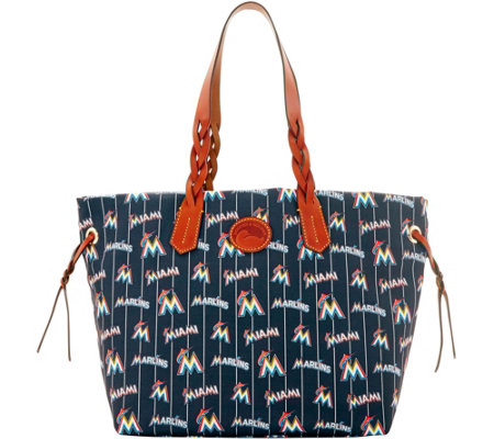 Dooney & Bourke MLB Nylon Marlins Shopper