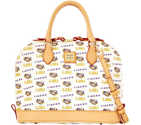 Dooney & Bourke NCAA Louisiana State University Zip Zip Satchel