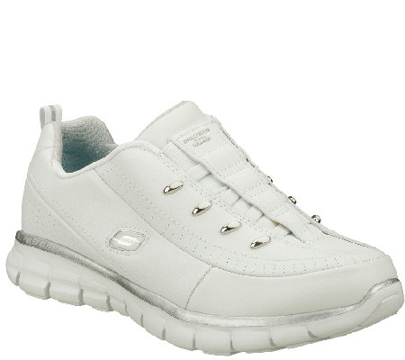 Skechers Leather Sneakers - Synergy - Elite Class