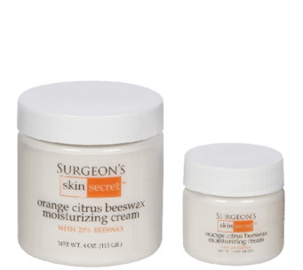 Surgeon's Skin Secret 2-Pc Orange Citrus Beeswax Cream - A337803