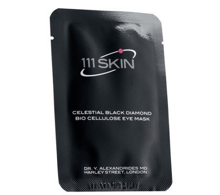 111 SKIN Celestial Black Diamond Bio CelluloseEye Mask
