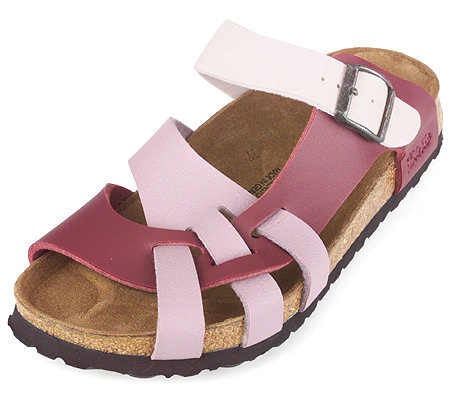 Birkenstock Multi-color Curved Strap Comfort Sandals
