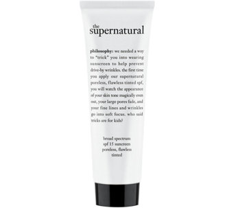 philosophy supernatural poreless flawless spf 15 skin perfector - A5903
