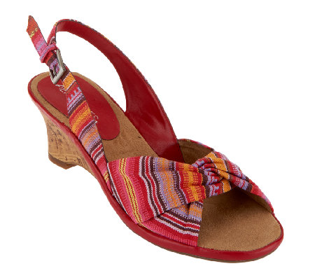 Aerosoles Zenthusiasm Slingback Wedge Sandals