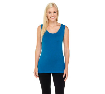 Linea by Louis Dell'Olio Whisper Knit Scoop Neck Tank