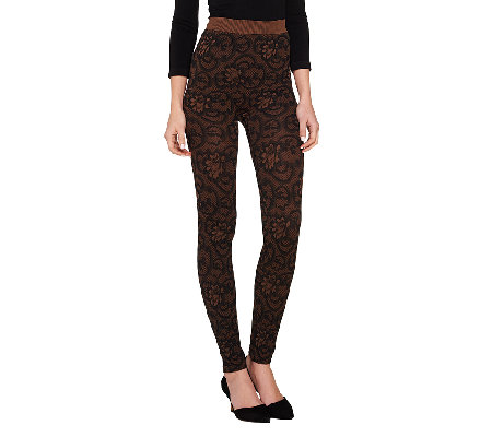 skinnytees Patterned Full Length Leggings