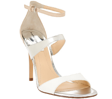 Marc Fisher Ankle Strap Sandals - Gentry