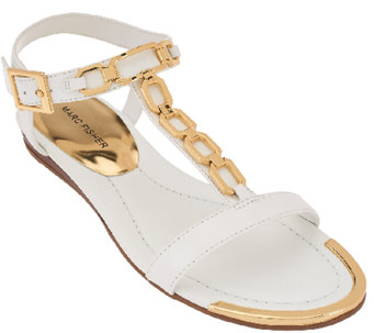 Marc Fisher Sandals with Chain Details - Mikaela - A268604