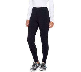 Denim & Co. Active Pull-On Fleece Lined Leggings - A270104