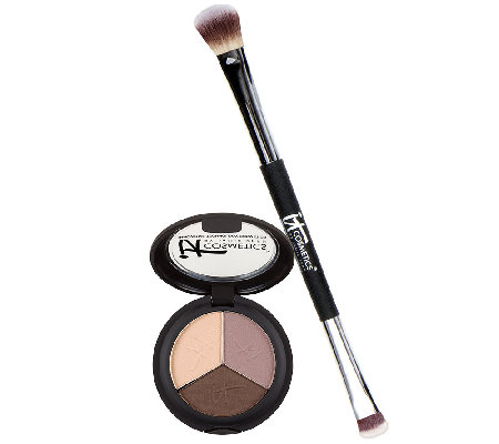 IT Cosmetics Pretty in Fall Eye Shadow Trio w/ No-Tug Brush