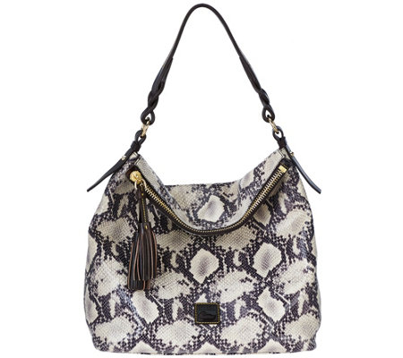 Dooney & Bourke Newbury Leather Sloan Hobo