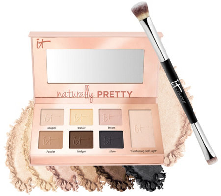 IT Cosmetics Naturally Pretty Essentials Palette w/Brush