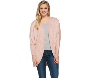 Studio By Denim & Co. Dolman Sleeve Cocoon Cardigan - A274904