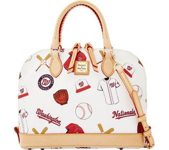 Dooney & Bourke MLB Nationals Zip Zip Satchel - A280104